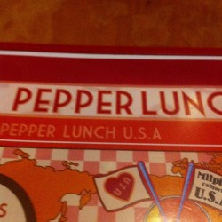 Pepper Lunch is not the same. 😭japan > usa