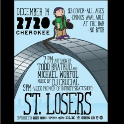 This is it people.  Be there. #stlosers    Check your you tubes for the new teaser.