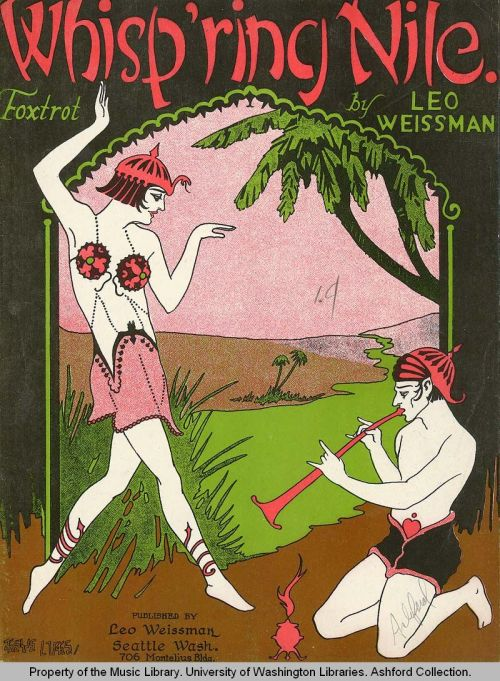 'Whisp'ring Nile' (1923) Walk like an egiptian.