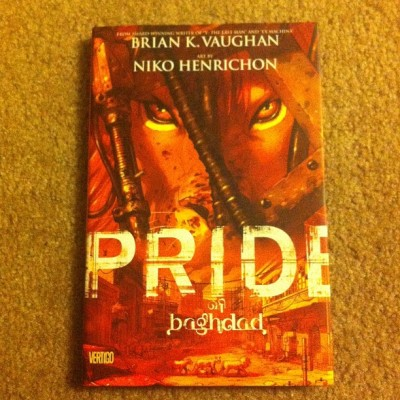 One of my favorite #graphicnovel of all time #briankvaughan #Pride made me cry!!! #comic