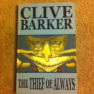LOVE @CliveBarker #TheThiefOfAlways #graphicnovel #comic