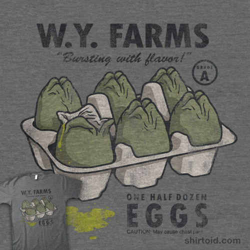 shirtoid:   W.Y. Farms is available at J!NX