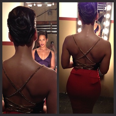 "Alicia Keys: ""Hanging with my guy Jimmy Fallon tonight!""… and, you can watch her performance here…"