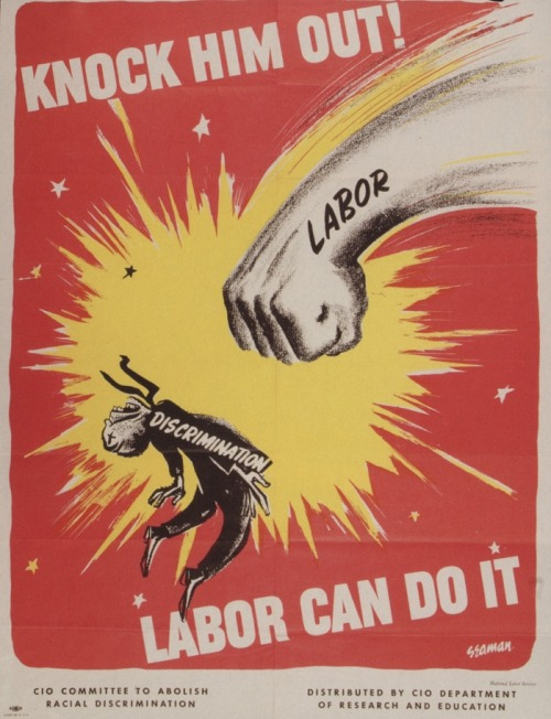 Knock him out! Labor can do it (1951)