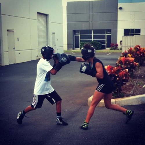 Getting ready for Dec. 8th fights!!! #boxing #training #sparring