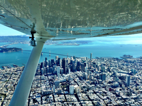tdpilot:  Downtown San Francisco from 1500ft