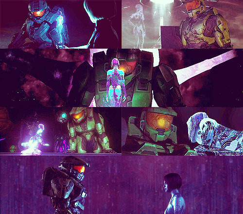 Halo  |  John and Cortana