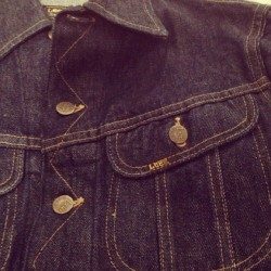 lee riders 101 denim jacket #lee #riders #vintage #thrift #thrifted #thrifting #forsale #rawdenim