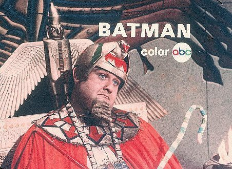 ABC bumper/promo for Batman with King Tut (1966)