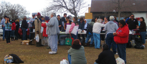 Community comes together every week in support of homeless An entire, dedicated community of all races rethinks the definition of homelessness and much more every Sunday in Rapid City.