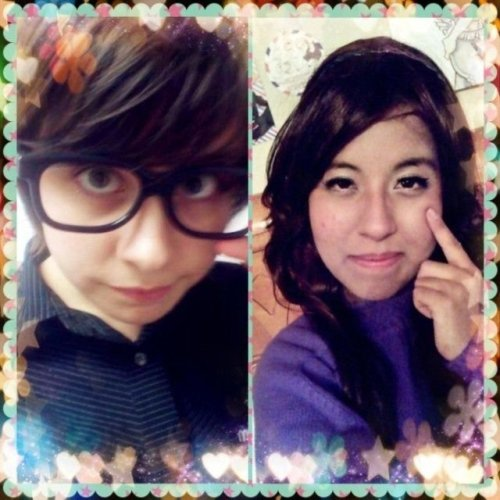 I made my best friend and I into a kawaii ulzzang couple