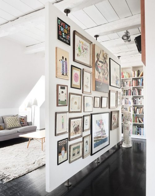dirtyprettything:  (via Fancy - Loft Room Divider)