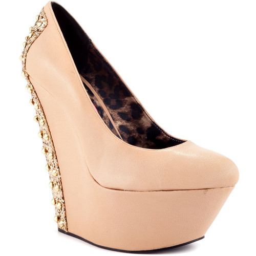 Betsey Johnson pumps (see more studded heels)