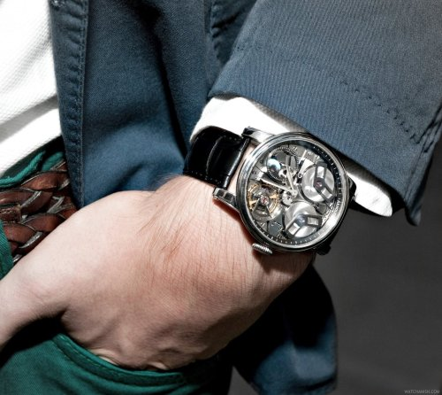 watchanish:  Arnold & Son TB88 Serious business