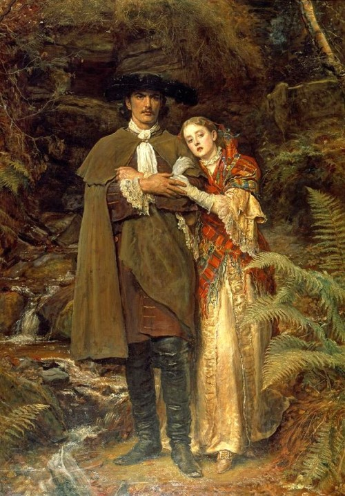 The Bride of Lammermoor by John Everett Millais