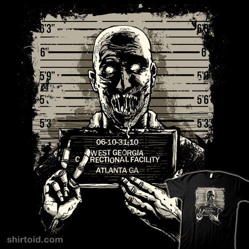 shirtoid:  Deadtainee by zerobriant is $10 today only (11/22) at Shirt Punch