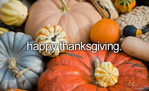 littlereasonstosmile:  Have a wonderful Thanksgiving everyone!