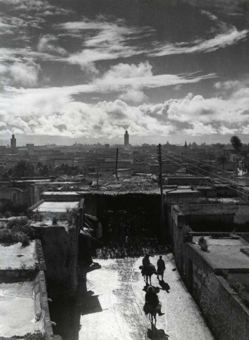 Marrakech, Morocco, 1950s photo by Bernard Rouget