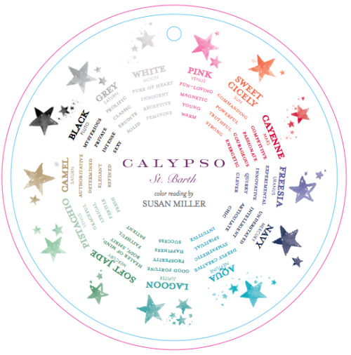 The new cashmere sweater collection at Calypso St. Barth is cosmically aligned with the mathematical astrology of the designer's mother, Susan Miller.