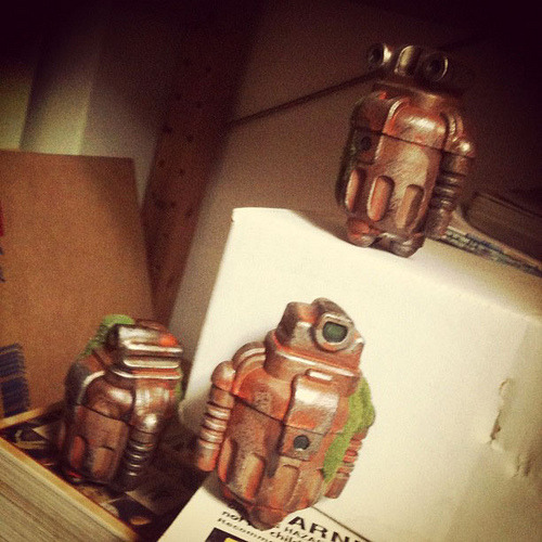 (via TOYSREVIL: TOYPIXDAY: Custom Sprogs by Cris Rose (Nov 22))