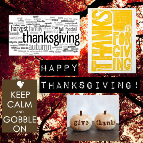 Happy Thanksgiving by psitsfashion on Polyvore