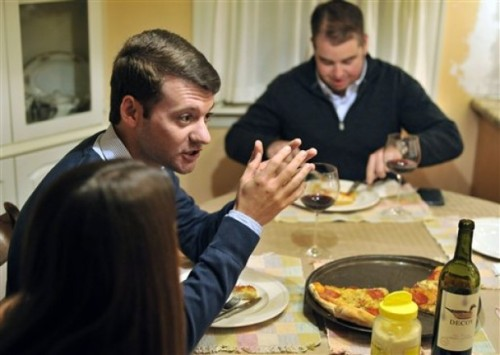 diadoumenos:  5 Things To Tell Your Republican Relatives At Thanksgiving Dinner  This year, you have to have a little sympathy for your Republican family members. Not only did they lose, they lost after nominating a guy they never liked because they thought he could win. For this reason they'll be extra agitated and prone to ranting. The best advice is probably to avoid talking politics until at least dessert—if at all possible. Then if you get seriously annoyed, you can make a clean escape without upsetting grandma. But if your right-wing relatives want to treat you like Colmes to their Hannity and demand a debate, you should be armed with a few facts that will at least get them thinking.   A little late on this, but if you stil have family around, teach them a thing or 2. Or 5.