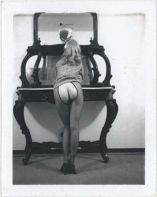 Untitled Polaroid by Carlo Mollino, 1962-1973 Also