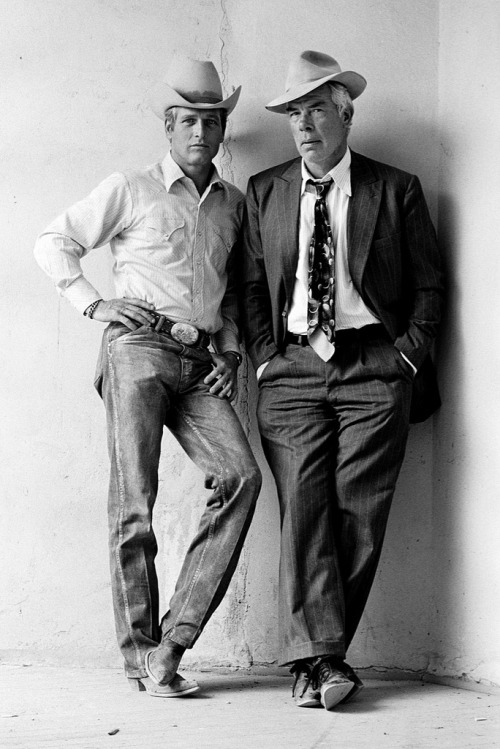 hurtos:  Paul Newman & Lee Marvin. Terry O'Neill.