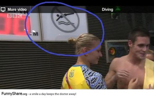 silvianastan:  No diving at the Olympic Diving finals? Seems legit