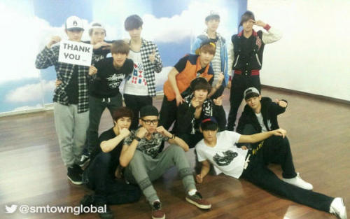Exo and i would like to wish all u guys a happy thanksgiving! Haha…i hope all u tumblees are thankful for everything and be safe with your families! I like to add my tumblees this year for supporting me and my blog. I love u guys. Always cheering me up when no one else can. Thank u. And love u so much! Thank u for sticking by me. I promise i wont let u down!  Photo credit to smtownglobal.