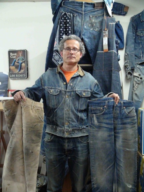 Ruedi Karrer, founder of The Jeans Museum