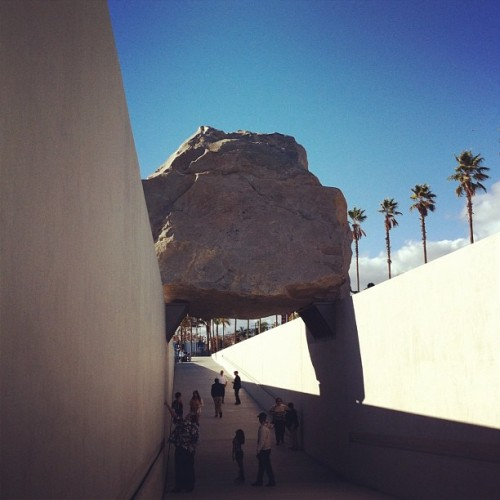 Levitated Mass #lacma
