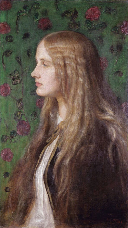 Edith Villiers, later Countess of Lytton, by George Frederic Watts