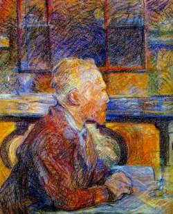 Toulouse-Lautrec, Portrait of Vincent van Gogh, 1887
