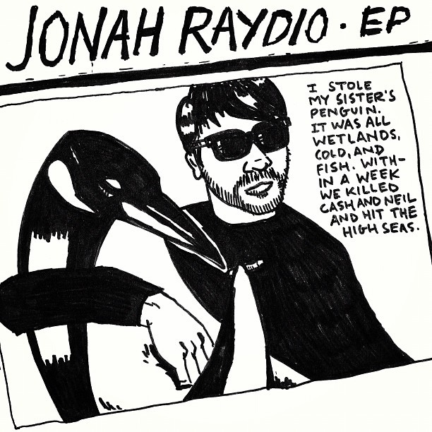 jonahray:  New JONAH RAYDIO is up! Guest: @JohnRossBowie, music by @yeahrightPOS, Moonraker, @pujol_ art by Dana Lechtenberg. CC @cashhartz @nails13 http://jonahraydio.libsyn.com/ep  This was so fun — a great talk on music and the uneasy but crucial relationship between punk rock and comedy. I don't consider myself punk rock — PLEASE know that — but it's where I started, and it shapes a lot of what I do, and … you know what? I've stopped listening to me. Enjoy this podcast.
