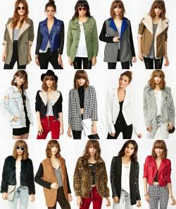 what-do-i-wear:  30% off on outerwear from Nastygal!