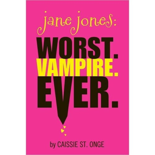 ITEM OF THE DAY: ITEM OF THE DAY: JANE JONES: WORST VAMPIRE EVERby Erin Long http://bit.ly/U0CNcw