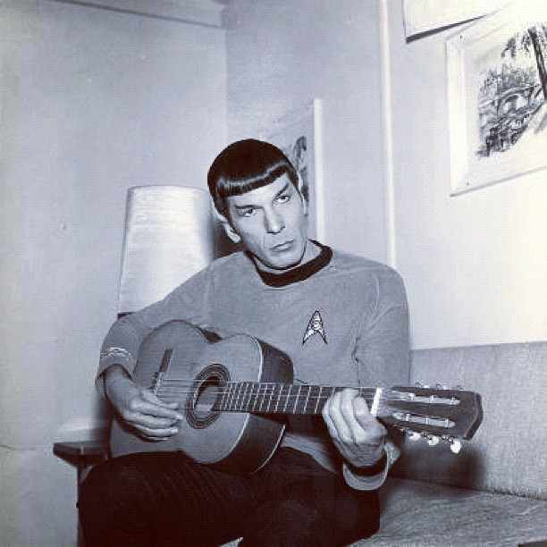Rock out with your Spock out…