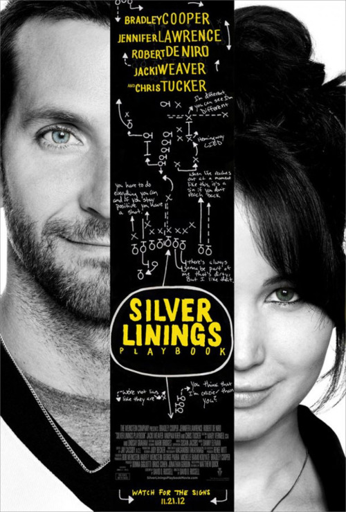 "#124 Silver Linings Playbook (2012) Dir. David O. Russell  I think David O. Russell is a really gifted filmmaker, not necessarily one of my favourites but he's certainly someone who's work I always enjoy. As a writer I think he has a great ear for sharp, harsh dialogue and an instinct for dark comedy. In Silver Linings Playbook he's playing to all his strengths. This movie felt old-fashioned to me in that it truly is a film about character. The story comes out of the dysfunctions of the various players and has them bounce off of one another with glee. It's brilliantly cast with Bradley Cooper playing at a pitch I had no idea he was capable of reaching. It also helps that he has Jennifer Lawrence to play off who I'm certain is not only the most beautiful actress of her generation but also the most talented. She can be ""Jennifer Lawrence: Movie Star"" in films like The Hunger Games and X-Men First Class but she's astonishing when given some meaty, adult material to chew on and here she delivers probably my favourite female performance of the year. The girl who caught our attention so spectacularly with Winter's Bone two years ago has well and truly grown into a young actress with serious staying power. The film also contains the best Robert De Niro performance in YEARS. Seeing him bring the fire like he does here is a refreshing reminder of why the man is considered such a legend. More of this please Bobby! It's also nice to see Chris Tucker act against someone other than Jackie Chan and I really hope this is a sign that he's finally jumped back into acting with both feet. Silver Linings Playbook is David O. Russell's best movie since Three Kings. He's put his new found street cred earned from The Fighter to brilliant use by making a movie that feels deeply personal without sacrificing entertainment value. It has a real ""Old Hollywood"" feel in it's sensibilities but shot with a harsh dose of grit and bite. It's one of the most satisfying films I've seen all year and one which will undoubtedly be a big presence in the acting categories come Awards season."