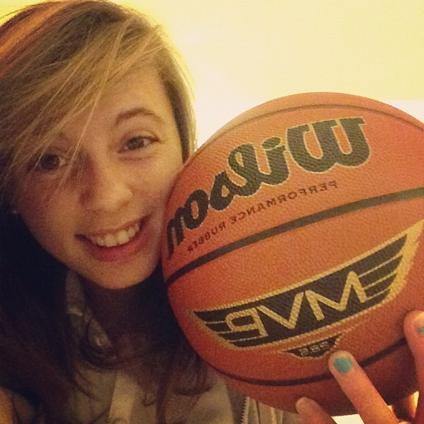 aren't we a cute couple? #basketball #life