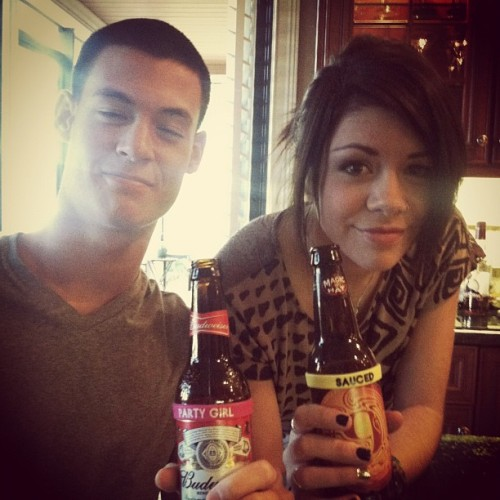 tayjardine: Being Sauced Party Girls with @jf463 #family #thanksgiving