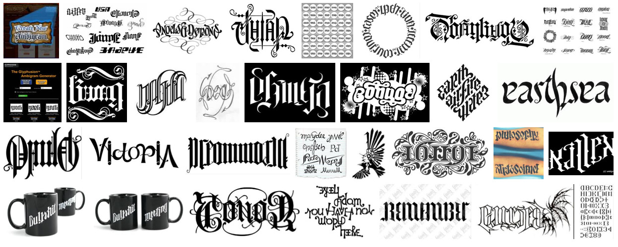 "pergoogle:   ""Ambigram,"" Google Image search by Rob Walker, November 22, 2012 Inspired by this box vox post."
