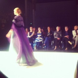 Gorgeous evening wear inspired by Gustav Klimt #thirdyear #eveningwear #tafe  (at CarriageWorks)