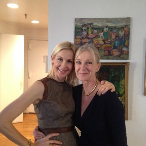 KellyRutherford: Happy thanksgiving! MsLagerfelt: Happy Thanksgiving to all from Mama CeCe & #GossipGirl daughter @KellyRutherford :) #peace