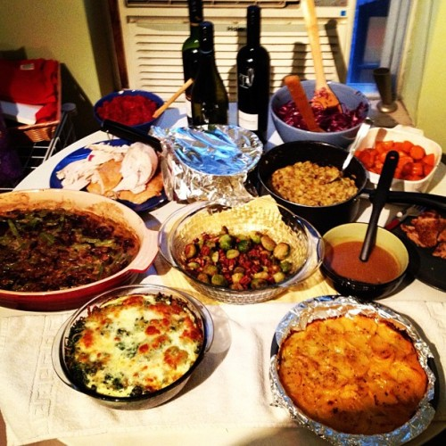we mades it! #yummm #homecooking #thanksgiving