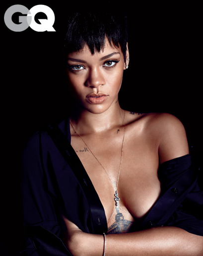 gq:  We'll say it. We're thankful for Rihanna.  Ugh. I am too.