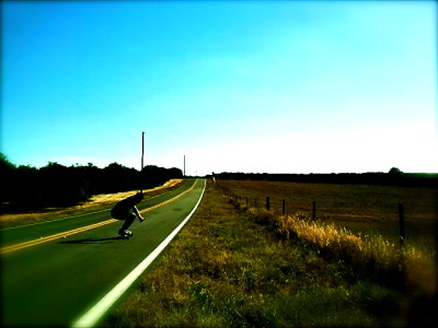 Me, riding free. In Lake Wales, FL. Rattlesnake Rd.