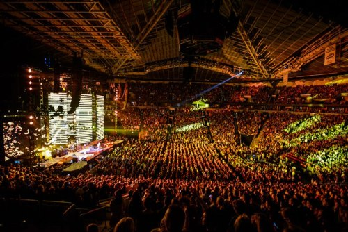 RHCP at the Key Arena in Seattle, Washington on Nov 15th 2012
