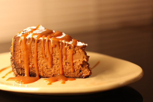 tea—and—crumpets:  A Ten Year Celebration: with Chocolate Caramel Cheesecake