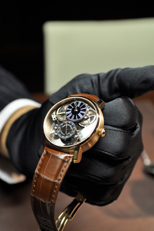 watchanish:  Jules Audemars Chronometer with AP Escapement